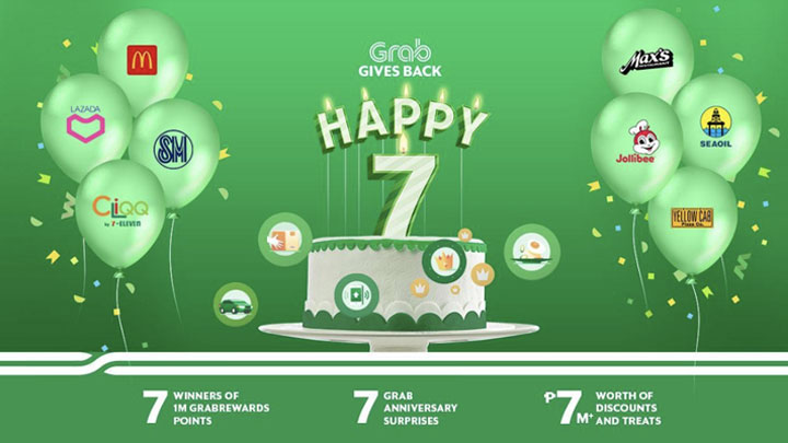 Grab celebrates 7th Anniversary with exclusive promos