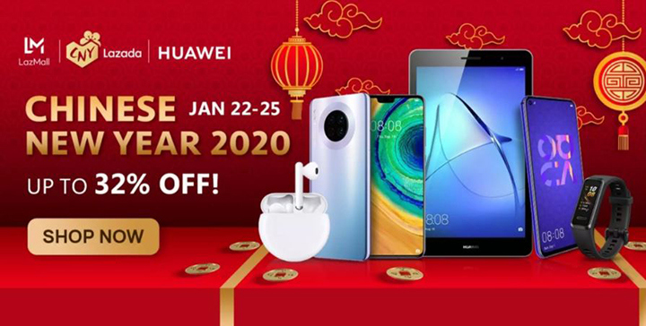 Huawei launches Chinese New Year promos at Lazada ...