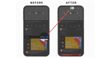 YOUTUBE UPDATE AUTOPLAY