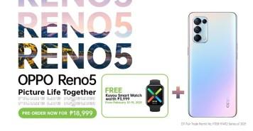 OPPO Reno5 4G Pre-order