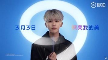 vivo S9 Cai Xukun