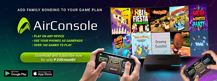 SKYcable subscribers get one-month free AirConsole access