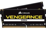 CORSAIR CMSX32GX4M2A2400C16 Vengeance 32GB (2x16GB) 260-Pin DDR4 SO-DIMM DDR4 2400 (PC4 19200) Memory (Notebook Memory)