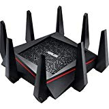 ASUS AC5300 Tri-Band WiFi Gaming Router(Up to 5330 Mbps) w/MU-MIMO, Supporting AiProtection Network Security by Trend Micro, AiMesh for Mesh WiFi System, Built-in WTFast Game Accelerator (RT-AC5300)
