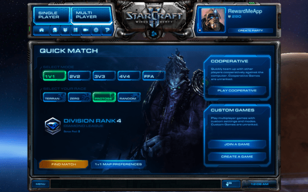Starcraft Gamification