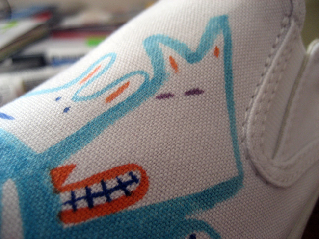 Schuh Bucketfeet #artandsole shoes by Patrick Gildersleeves