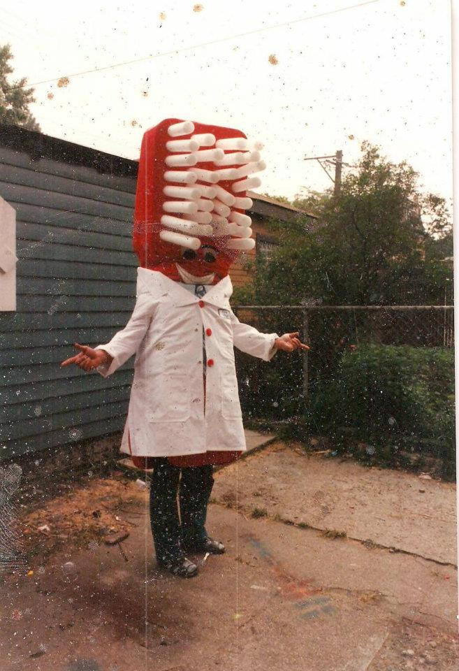 Toothbrush costume