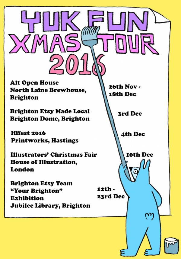 YUK FUN XMAS TOUR 2016