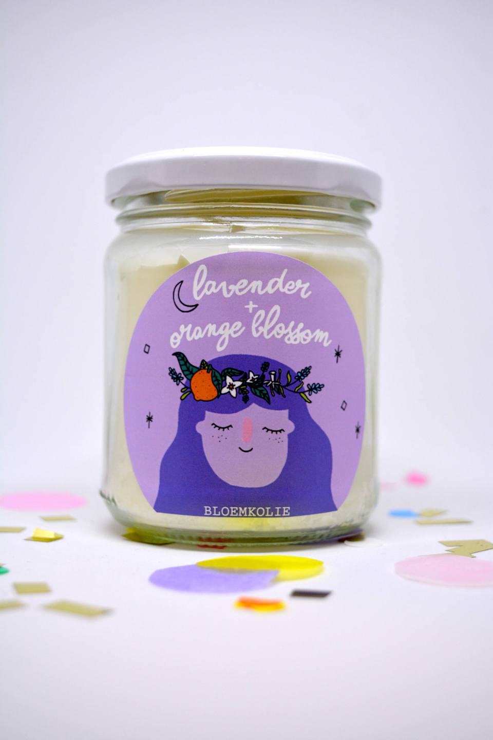 Soy candle by Bloemkolie