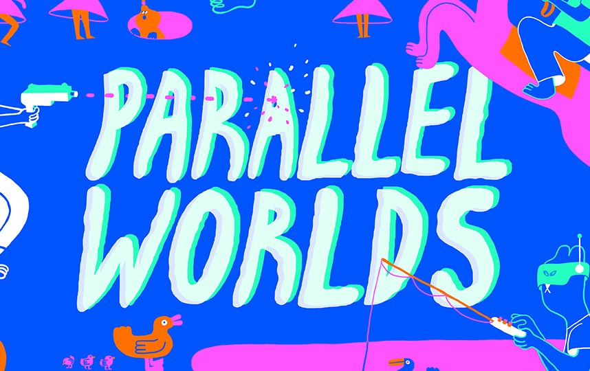 Parallel Worlds 2019 poster by YUK FUN