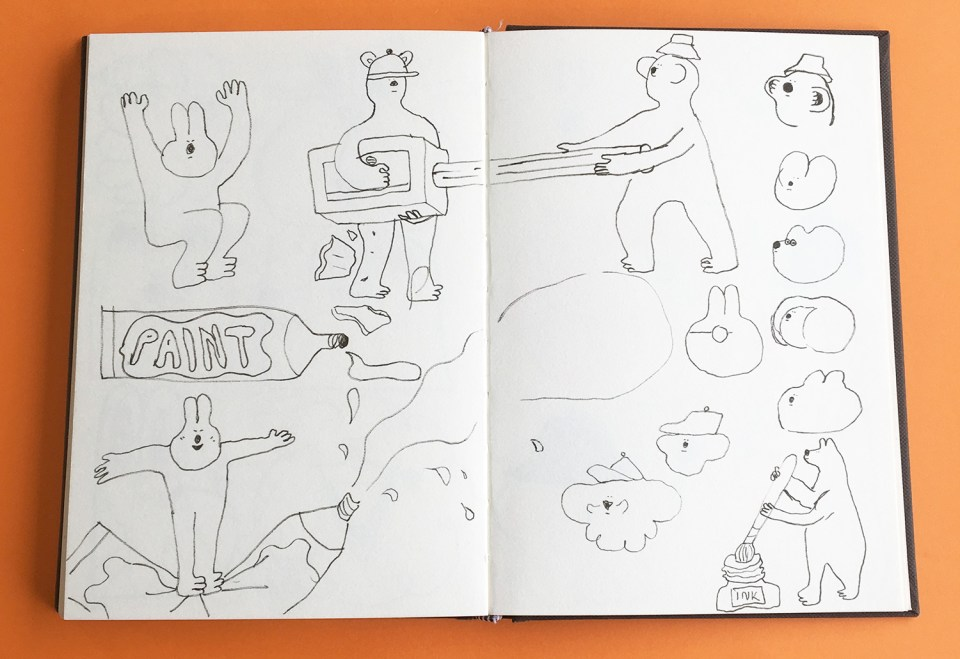 pencilparty_sketches1