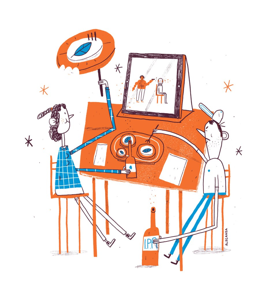 Alfonso de Anda illustration