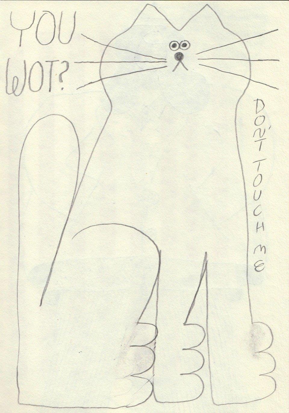 You wot t-shirt design sketch