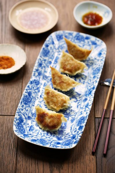 gyoza recipe in May's good food magazine
