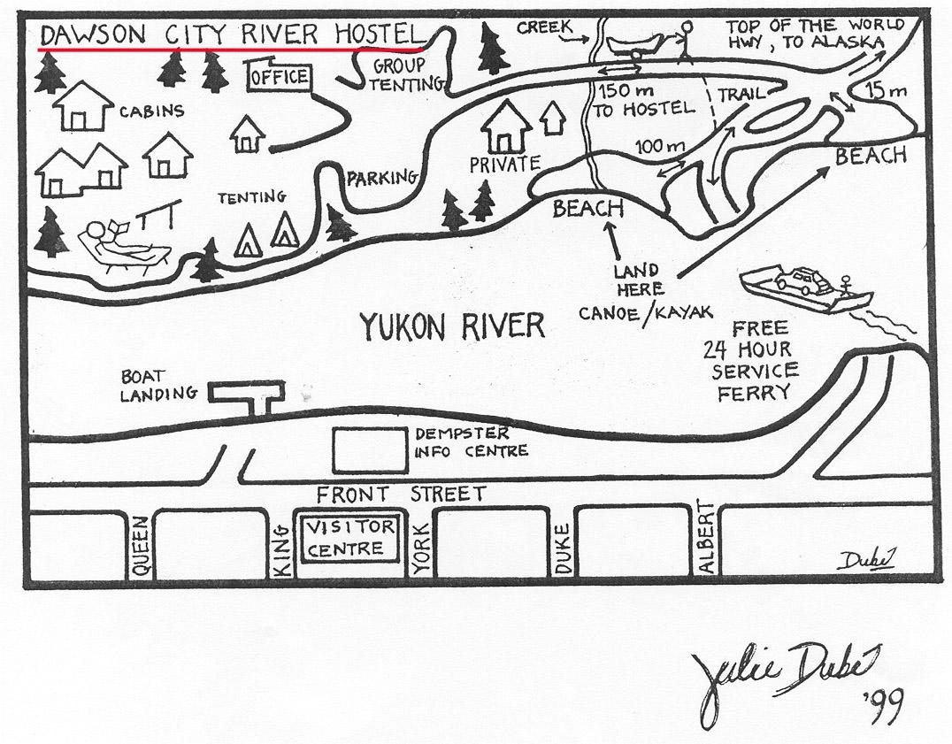 道森市河宿舎/Dawson City River Hostel