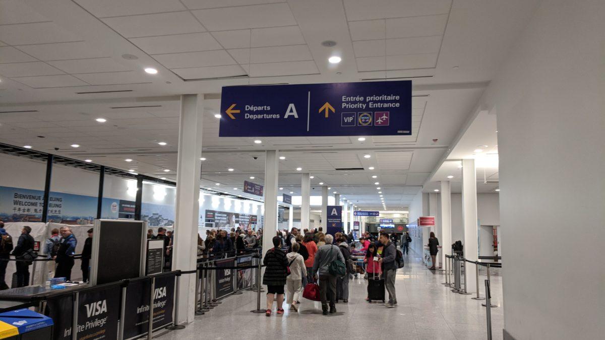 Programme NEXUS pour accélérer le passage à la sécurité et aux services frontaliers dans les aéroports