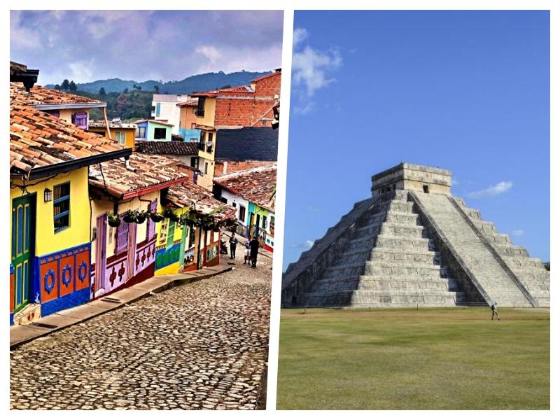 2 pour 1: Envolez-vous vers Medellín en Colombie puis Cancun au retour pour seulement 438$ de Montréal
