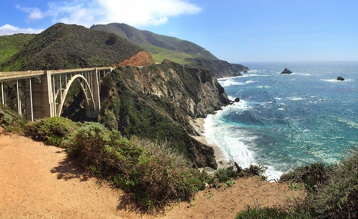 Road trip sur la mythique Highway 1 en Californie