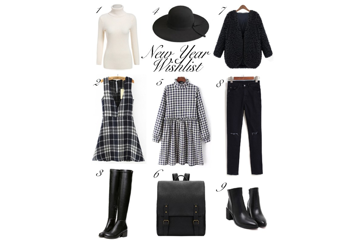 New Year Wish List SheIn Winter Outfits