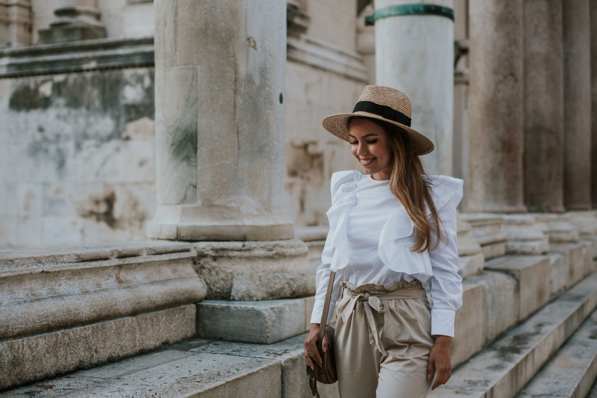 My Solo Trip to Croatia and Vacation OOTD Part 1