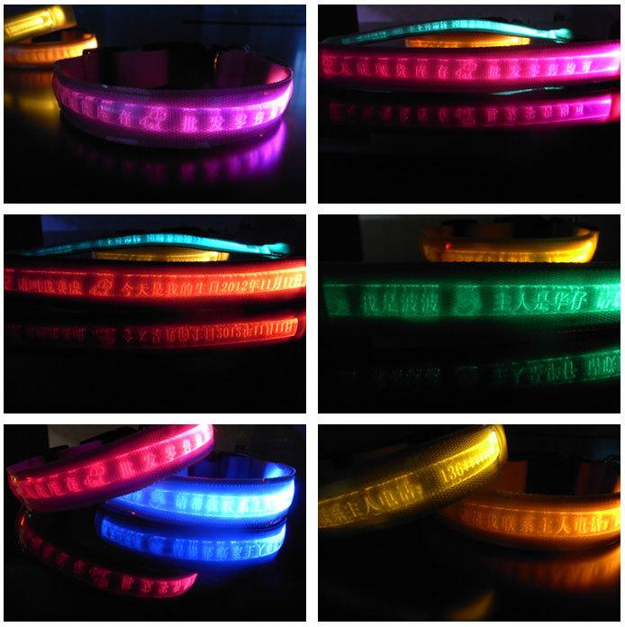 LED寵物發光刻字項圈 小型犬專用 客製項圈 @ 愛團購 iTogo@痞客邦 :: 痞客邦