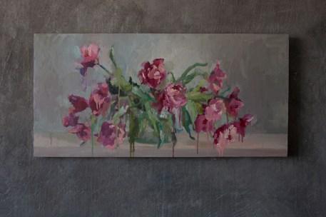 Pink tulips 49-99.5 cm. 600 €