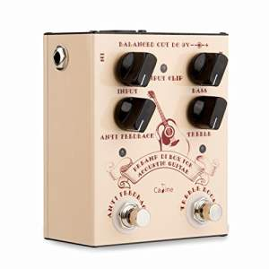 CP-40 Caline Preamp DI Box for Acoustic Guitar Pedal