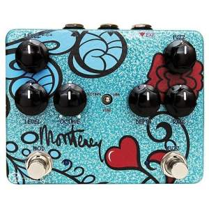Keeley Monterey Rotary Fuzz Vibe  Pedal - Boutique Guitar Stomp Box Effect