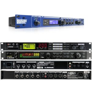 Rack Mounted Guitar Effects and Processors
