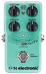 TC Electronic HyperGravity Compressor TonePrint Enabled Multi-Band Compressor
