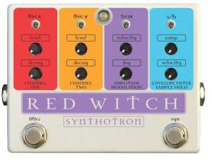 Red Witch Analog SY-120254 Guitar Floor Multi-Effects Pedal