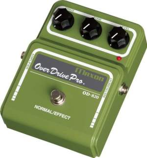 MAXON OD-820 OVERDRIVE PRO Electric guitar effects Distortion - overdrive - fuzz...