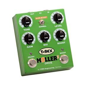 T-Rex Moller Overdrive with Clean Boost