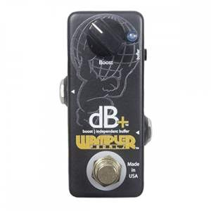 Wampler Decibel Plus dB+ Full Frequency Clean Boost Buffering Pedal