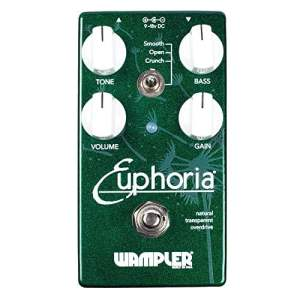 Wampler Pedals Euphoria V2 Overdrive Effects Pedal