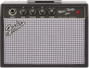 Video Review : Fender Mini 65 Twin Practice Battery Guitar Amp