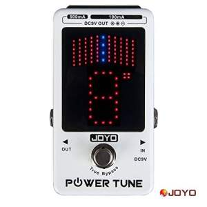 Joyo JF-18 Power Tune Guitar Effect Pedal Power Supply & Chromatic Floor Tuner In one 8 Outputs 6 x 100mA 2 x 500mA