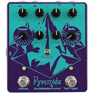 Earthquaker Devices Pyramids Stereo Flanging Device