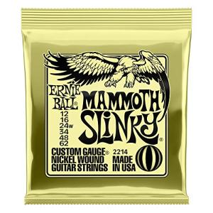 Ernie Ball Slinky Nickel Wound Electric Guitar Strings - 12-62 (wound G) Gauge