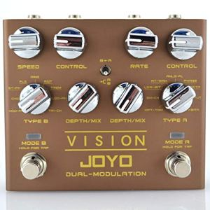 JOYO Vision Dual Channel Stereo Multi Modulation Guitar Effect Pedal