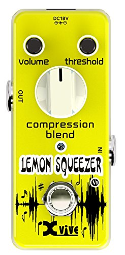 Xvive XV9 Lemon Squeezer Compressor Guitar pedal - Guitar Effect Stomp Box
