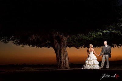 Wedding of Janna and AJ in Yuma, Arizona.  The wedding and reception was at From the Farm on US95.
