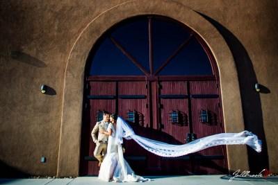 Isabella and Edgar had their wedding at St John Neumann's church in Yuma, Arizona