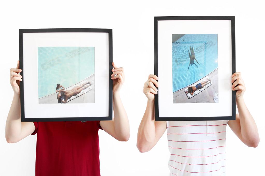 Custom framing with Framebridge
