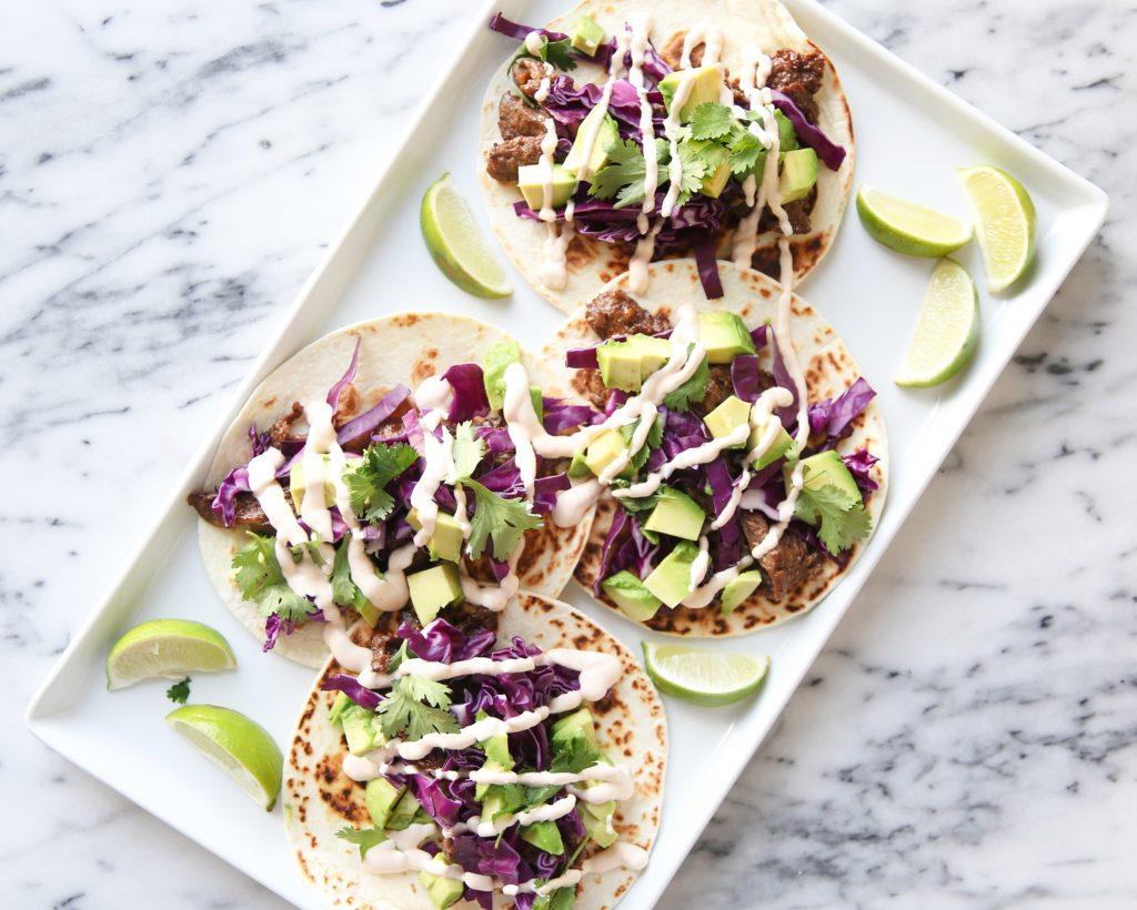 Korean taco recipe