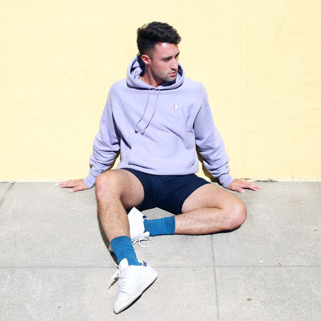 Colorful men's socks by HUE