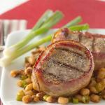 Bacon Wrapped Pork Tenderloin With Texas Caviar Recipe Yummly