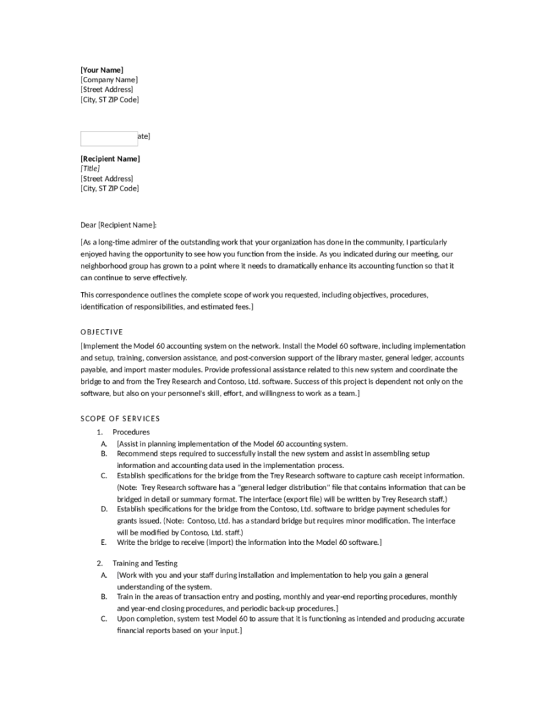 Proposal Letters For Business No Objection Certificate