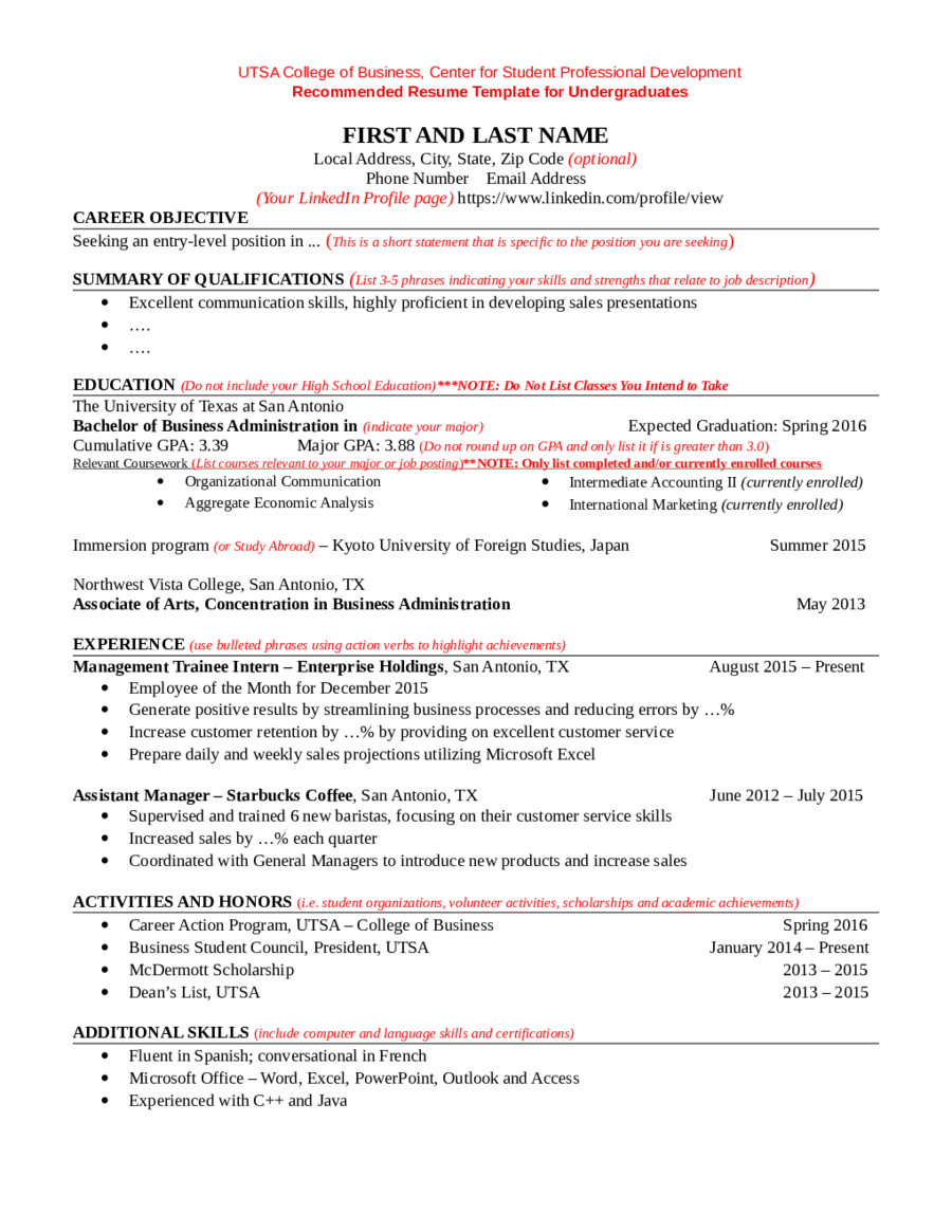 Student FAQ Sapling Learning core qualifications for a resume pros