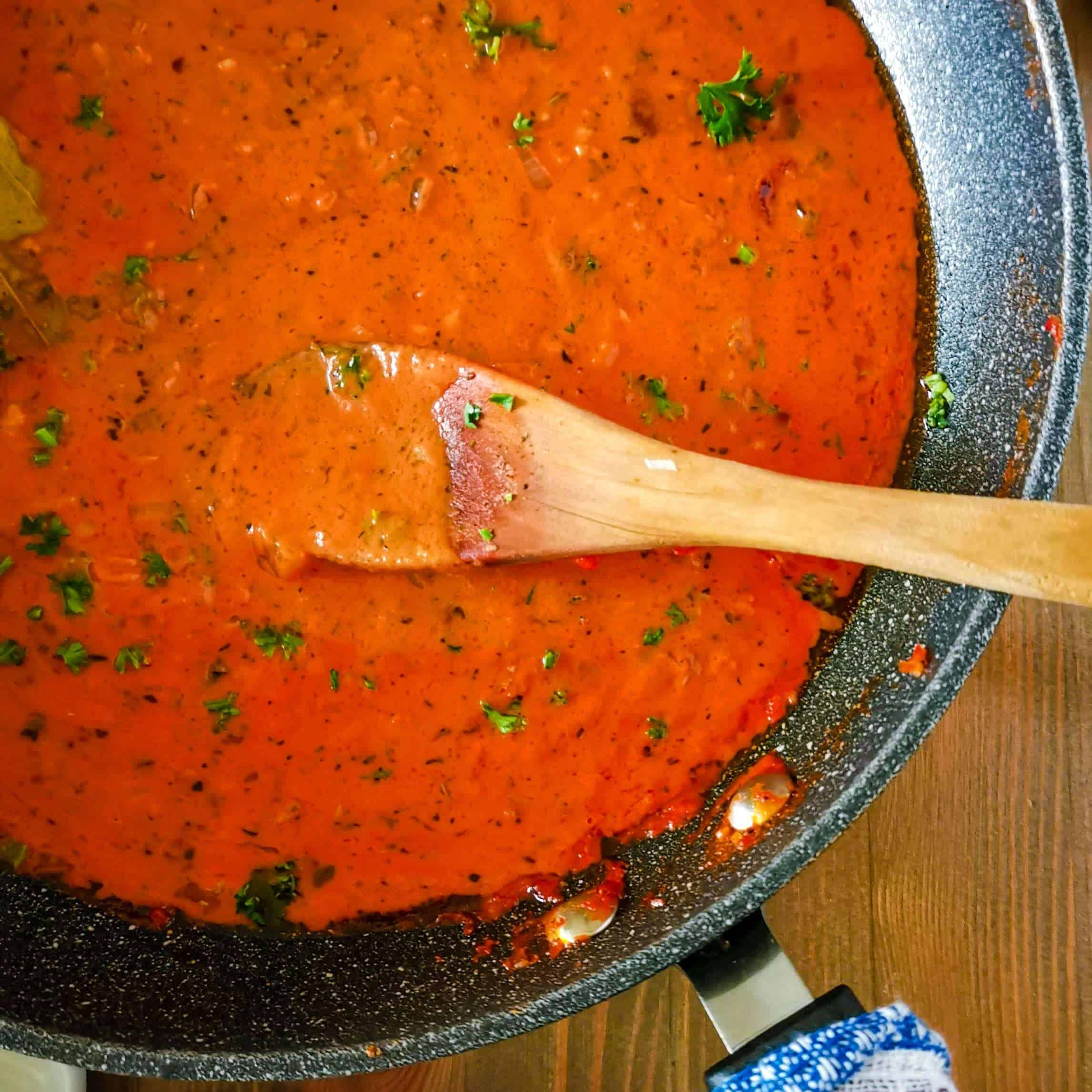 low Carb marinara sauce